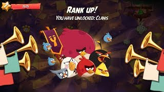 Angry Birds 2 - AB2 Rank Up Unlocked Clans