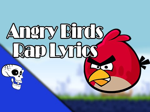 Angry Birds Rap LYRIC VIDEO by JT Music