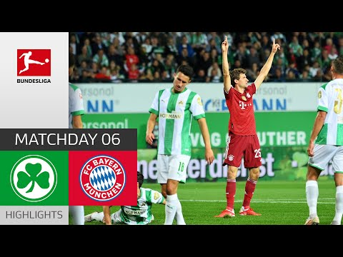 Greuther Furth Bayern Munich Goals And Highlights