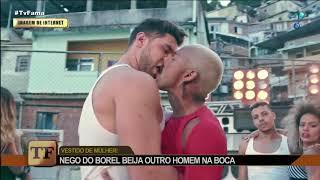 Baixar Nego do Borel beija homem em clipe de funk e é comparado com Lacraia