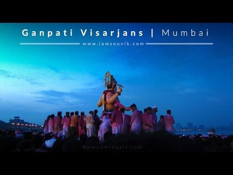 LalBaugcha Raja  Ganesh visarjan at...