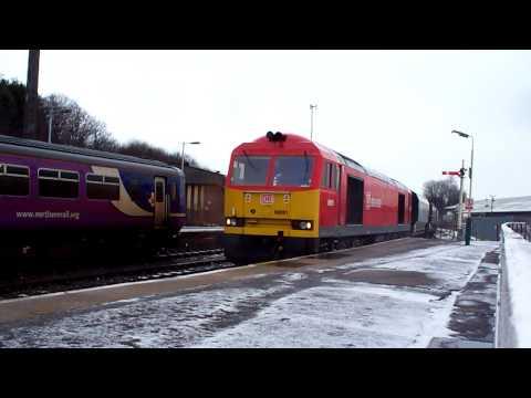 60091 DBSchenker on 6F05 at Buxton 10/02/2013