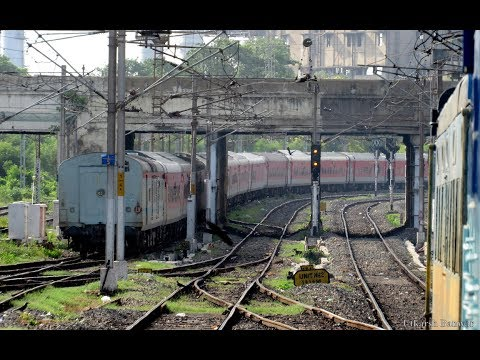 INDIAN RAILWAYS | Rarest in SR | A train journey from Chennai Central to Chennai Egmore