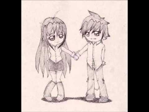 chibi couple sketch
