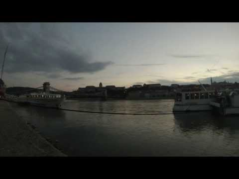 Budapest, Hungary - Sunset Time Lapse HD (2013)