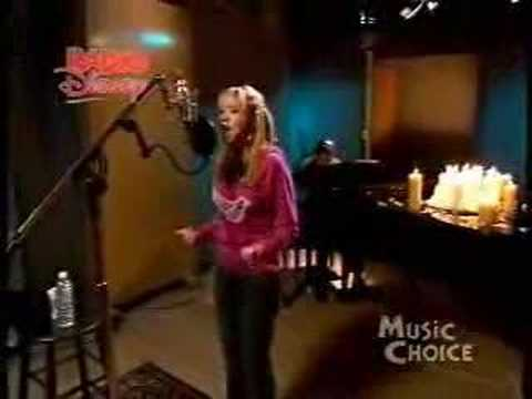 Diana DeGarmo singing Dreams