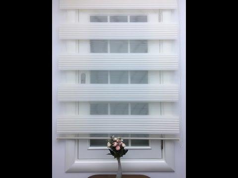 Plise Zebra Perde-Geniş Pliseli Model | Eperde.com