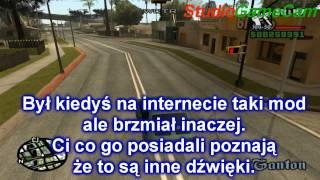 GTA San Andreas Polskie Akcenty i dźwięki.