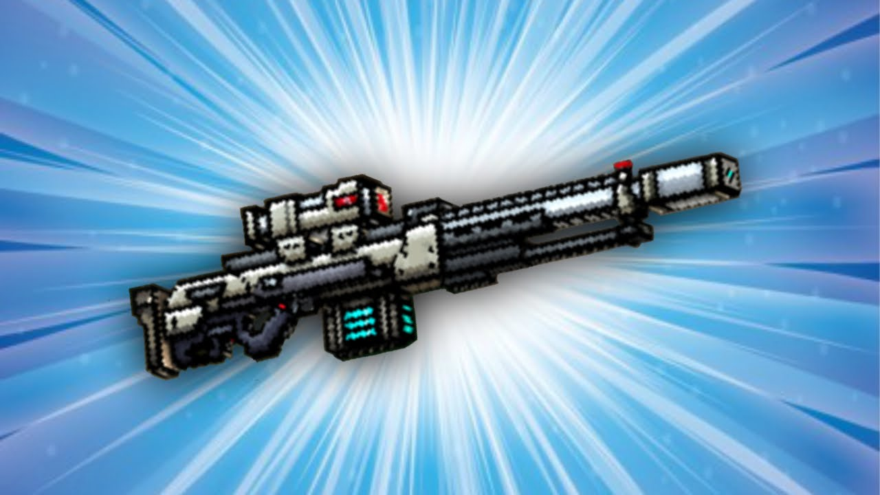 Pixel Gun 3D - Impulse Sniper Rifle [Review] - YouTube
