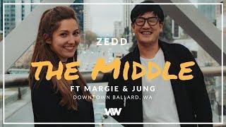 Zedd, Maren Morris, Grey - The Middle ft. Margie + Jung [Freestyle West Coast Swing Dance]