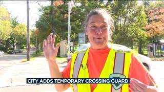 Crossing guards plea with drivers to slow down, pay attention
