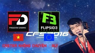 Repeat youtube video ►CFS 2016 -  FREEDOM (VIET NAM) vs EU - CASTER ALY
