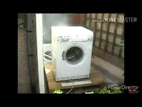 【ミルクチョコオンラインMAD】暴れる洗濯機をメンテ君が修理しに行きました