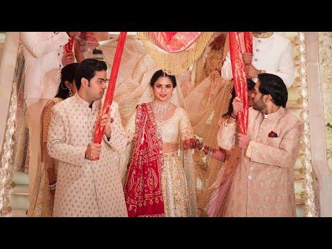 Indische Prunk Hochzeit Fur 88 Millionen Euro Youtube