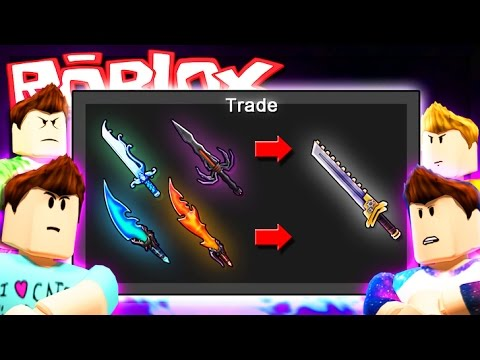 Roblox Adventures - 5X GODLY KNIFE BET CHALLENGE! (Murder Mystery 2)