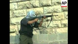 MIDDLE EAST: ISRAELI-PALESTINIAN CLASHES: GUNBATTLE
