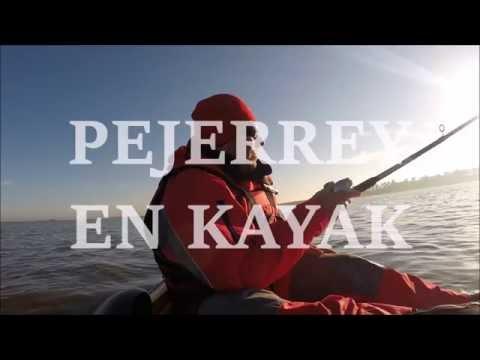 Pejerrey en kayak - Laguna Altos Verdes - Castelli - Amigos en Kayak.Com