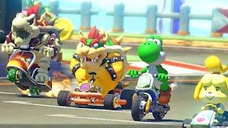 Mario Kart 8: Egg Cup é a Copa Nostalgia - DLC Pack 1 - Nintendo Wii U gameplay