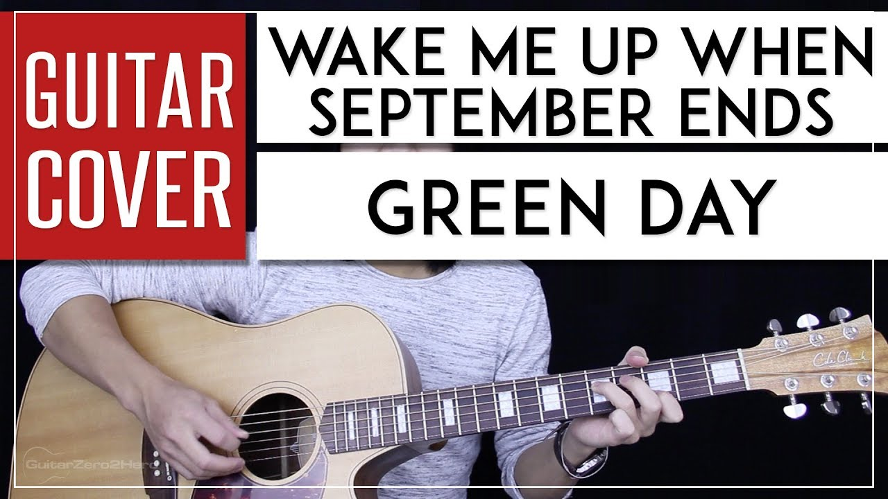 wake me up when september ends guitar cover green day tabs chords youtube. Black Bedroom Furniture Sets. Home Design Ideas