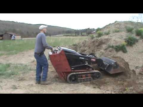 2008 Toro Dingo Tx420 Rubber Track Mini Skid Steer Loader