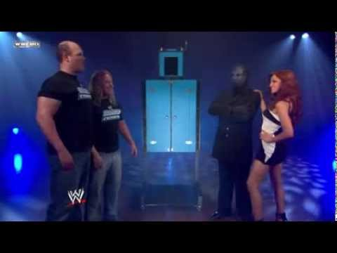 WWE: Maria and The Masked Magician backstage on SmackDown ft  Jesse and Festus)