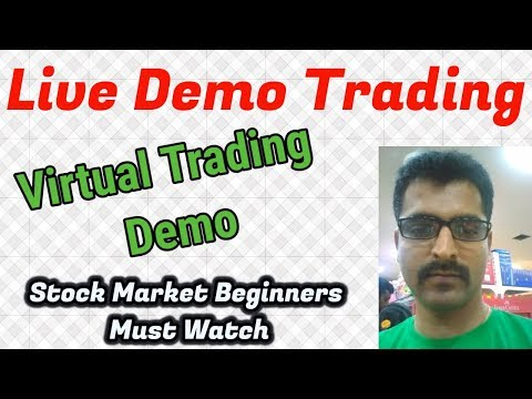 Live Trading Demo and Live Virtual Trading - Sample Trade