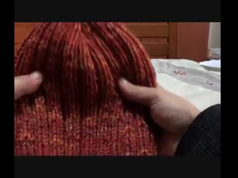 cappello unisex ai ferri per principianti - YouTube 1b9ebd7a53bf