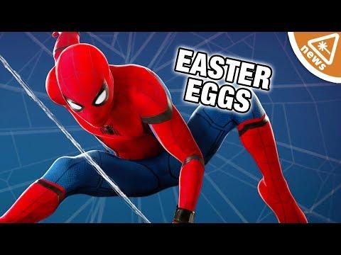 9 Spider-Man Homecoming Easter Eggs You Missed! (Nerdist News w/ Dan Casey)