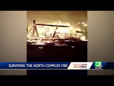 Man Survives Wildfire, But See It Destroy Berry Creek School