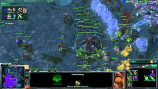 Destiny teaching rna [Game 2] (Part 2/2) - Starcraft 2 Lesson