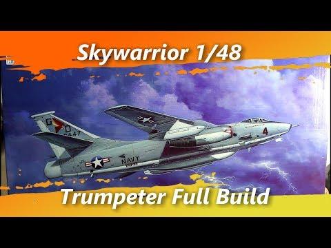 Skywarrior Trumpeter 1/48 Full Build
