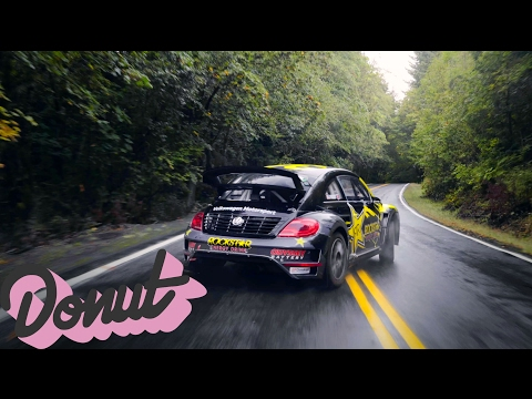 Racing a Rally Car on Public Roads in Portland, Oregon w/Tanner Foust | Donut Media
