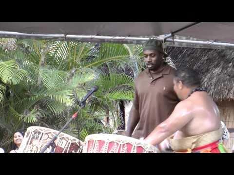 Polynesian Cultural Center Tonga Drummers