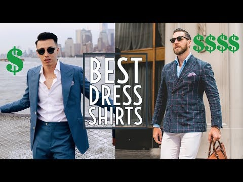 $40 vs $400 Dress Shirts || The Best Dress Shirts  || Mens Fashion 2018 || Gents Lounge