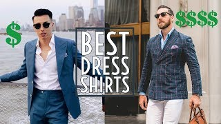 $40 vs $400 Dress Shirts || The Best Dress Shirts  || Men's Fashion 2018 || Gent's Lounge