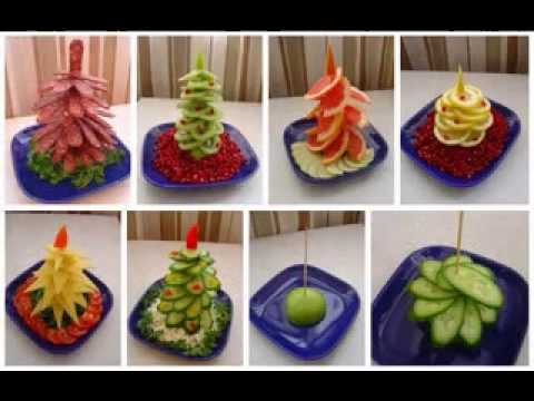 Food decoration ideas youtube for Good decoration