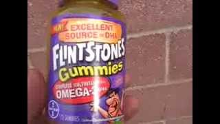 Flintstones Gummy bear vitamins