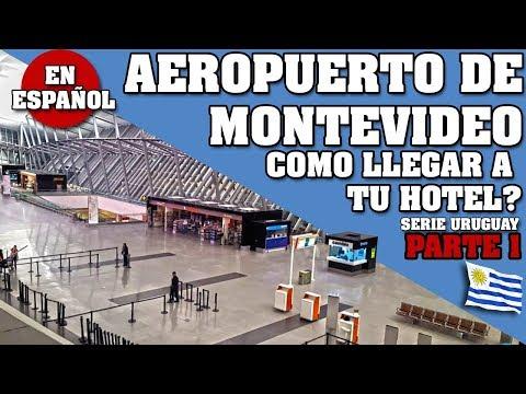 QUE HACER EN MONTEVIDEO? TODOS LOS TRANSPORTES DEL AEROPUERTO AL CENTRO. URUGUAY * EN ESPAÑOL