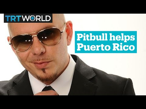 Pitbull sends private jet to help Hurricane-hit Puerto Rico