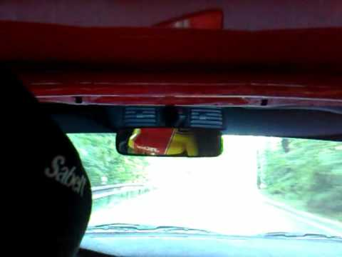 ONBOARD: David Něšpor + Mitsubishi Lancer EVO IX - Berounský Vrch 11-12/07/2009 Video 01