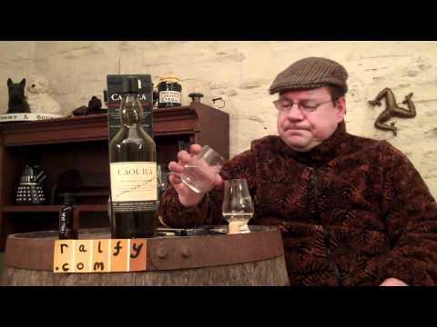 whisky review 169 - Caol Ila cask strength (61.6%)