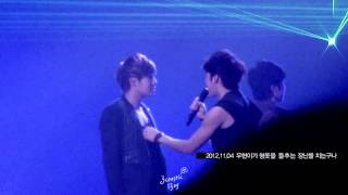[HD fancam] 121103+04+11 Woogyu - 3분의 1 x 3 @ Second Invasion Evolution