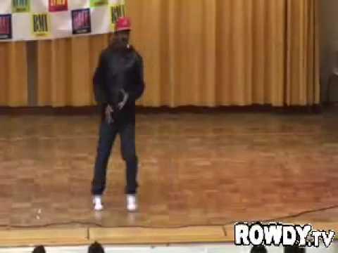 LLoyd performing
