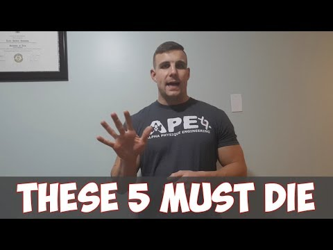 "5 Stupid Nutrition Myths That Must Die | Tyler Johnston ""theAPEcoach"" - MASS3 Training"