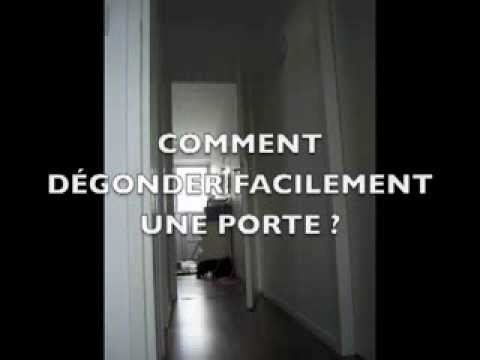 Comment Dmonter Une Porte Facilement   Youtube
