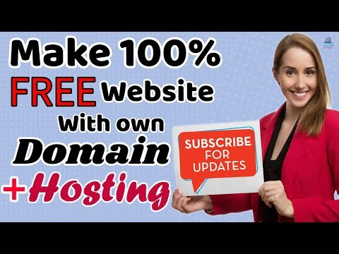 How to Make a FREE Professional Website with own Domain + FREE Hosting |Bangla Tutorial| [#2]