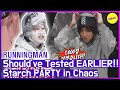 [HOT CLIPS] [RUNNINGMAN] Poor KWANGSOO🤣🤣 Starch PARTY in Chaos (ENG SUB)