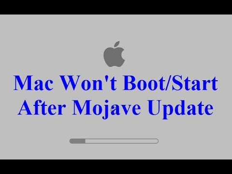 Mac Won't Boot/Start After Mojave Update (Fixed)