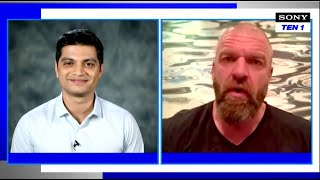 Triple H on Extraaa Innings | WWE Superstar Spectacle Indian Dhamaal