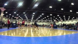 Sierra Horton #16 2018 Setter L.A. Junior National Qualifier 2016 Highlights